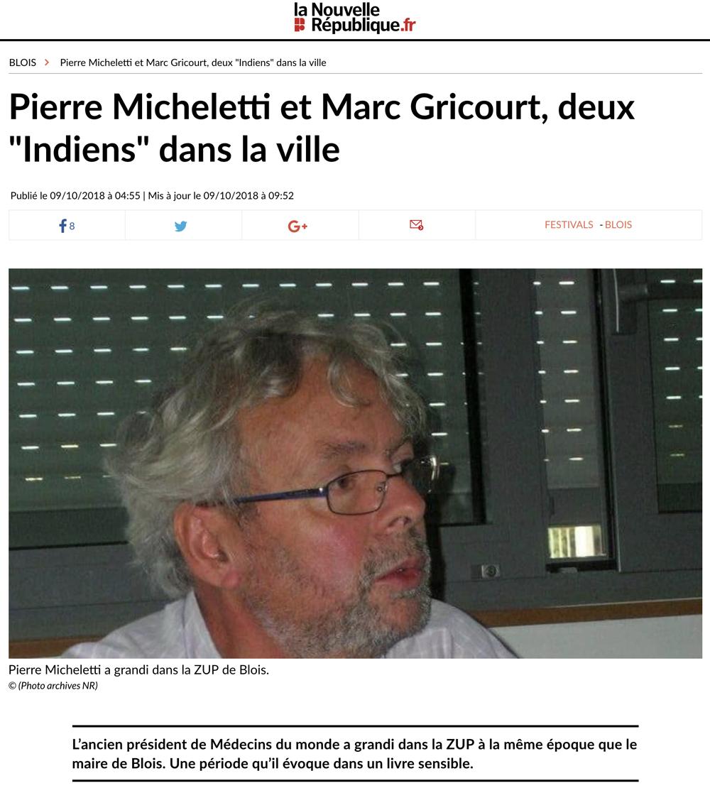 Article   «Pierre Micheletti et Marc Gricourt 9b589cf11d4